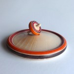 Set Play of wooden spinning top