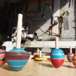 collection of spinning top